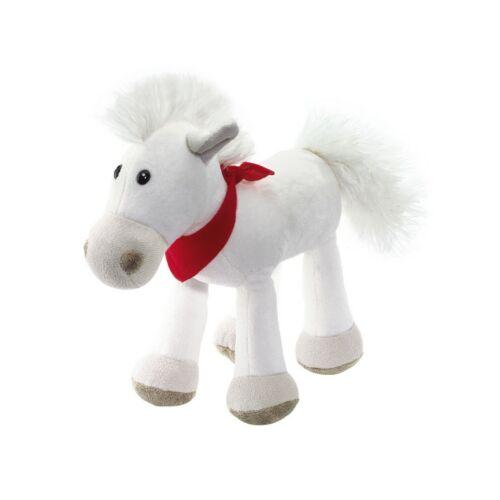 JONNY plüss ló, fehér