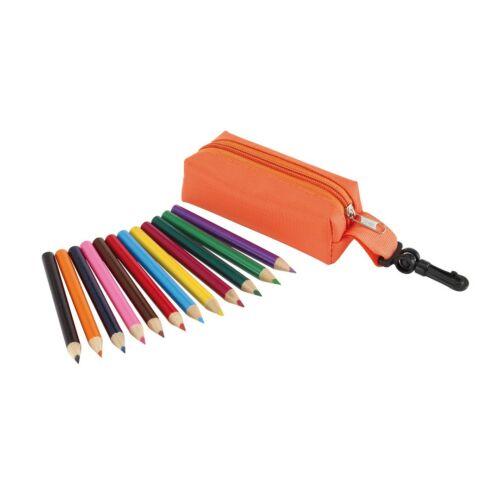 SMALL IDEA ceruza szett tokban, narancssárga