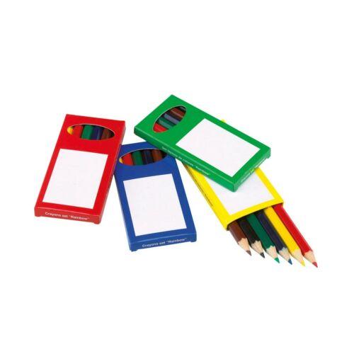 RAINBOW színes ceruza készlet, kék, zöld, piros, sárga