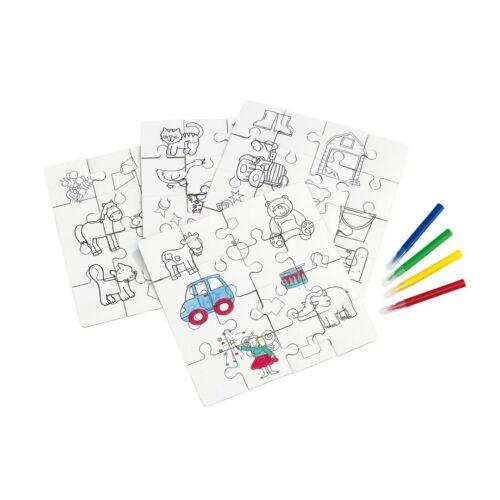 PAINT YOUR PICTURE gyermek puzzle, színes