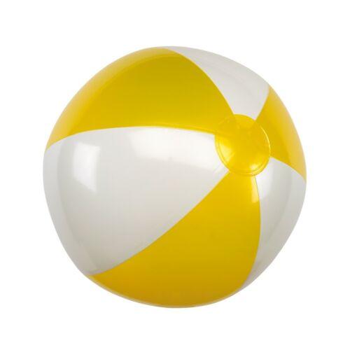 ATLANTIC felfújható strandlabda, sárga, fehér