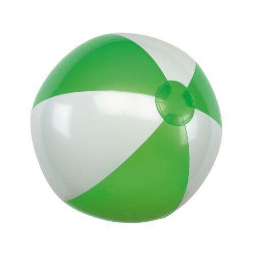 ATLANTIC felfújható strandlabda, zöld, fehér