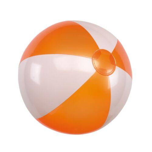 ATLANTIC felfújható strandlabda, fehér, narancssárga
