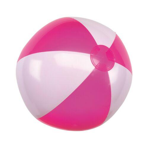 ATLANTIC felfújható strandlabda, fehér, rózsaszín
