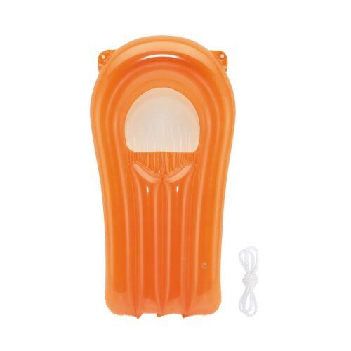 SPLASH felfújható mini strandmatrac, narancssárga