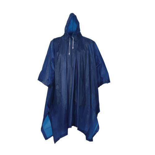 KEEP DRY kerékpáros kapucnis esőköpeny, kék