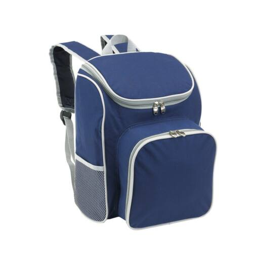 OUTSIDE piknik hátizsák, kék, szürke