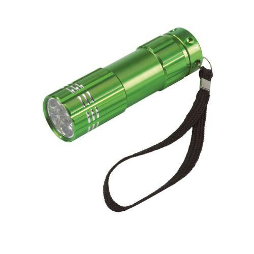 POWERFUL elemlámpa, zöld