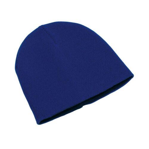 NORDIC kifordítható sapka, kék/fekete
