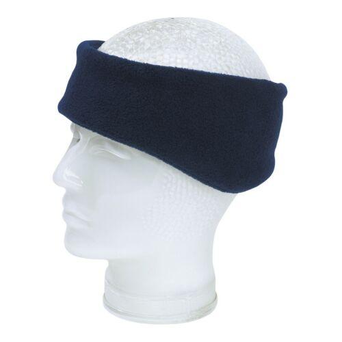 BLIZZARD polár fleece fülvédős fejpánt, tengerészkék