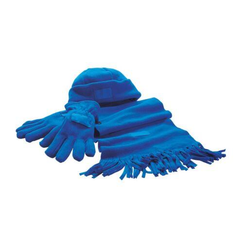 TRIPLE puha polár szett, kék