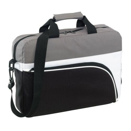 NARVIK laptop táska, fekete, fehér, szürke