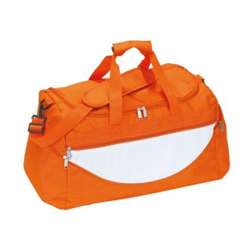 CHAMP sporttáska, narancssárga, fehér