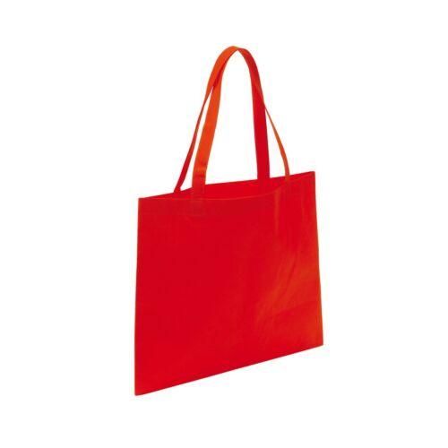 MARKET bevásárlótáska hosszú füllel, vörös