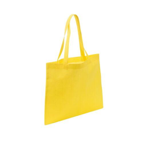 MARKET bevásárlótáska hosszú füllel, sárga