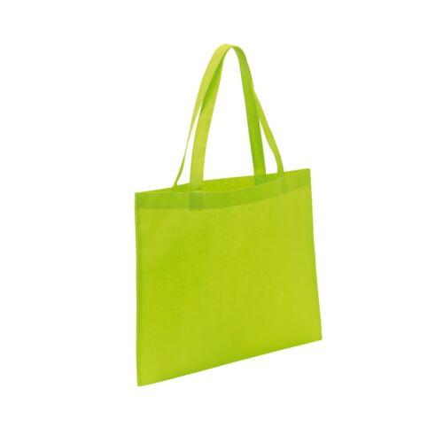 MARKET bevásárlótáska hosszú füllel, zöld
