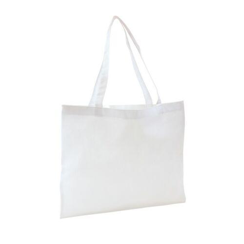 MARKET bevásárlótáska hosszú füllel, fehér