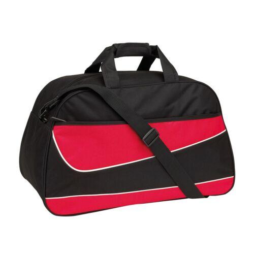 PEP sporttáska, fekete, vörös