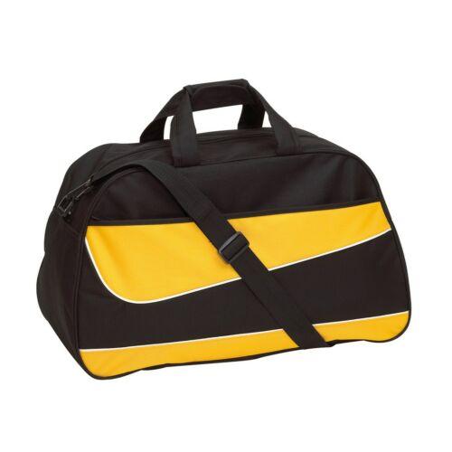 PEP sporttáska, fekete, sárga