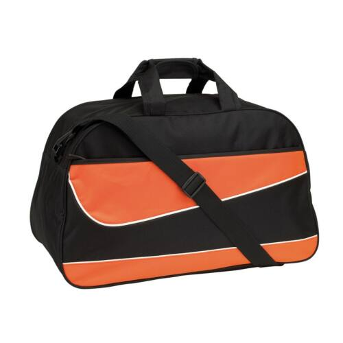 PEP sporttáska, fekete, narancssárga