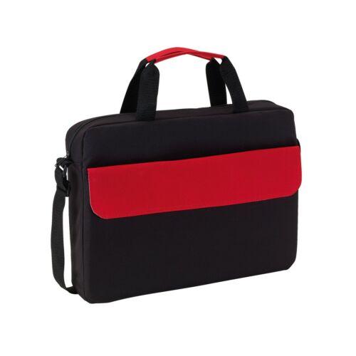 BRISTOL konferencia táska, fekete, vörös