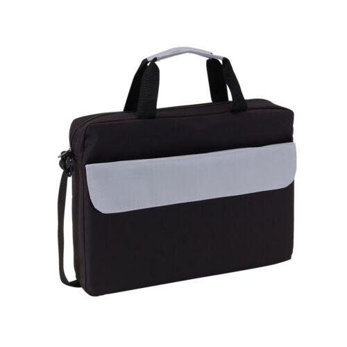 BRISTOL konferencia táska, fekete, szürke