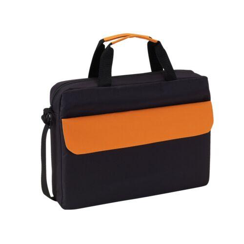 BRISTOL konferencia táska, fekete, narancssárga