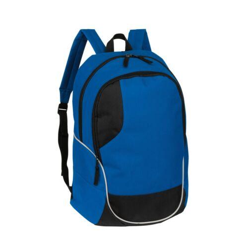 CURVE hátizsák, kék, fekete