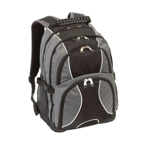 HYPE laptop tárolós hátizsák, szürke, fekete
