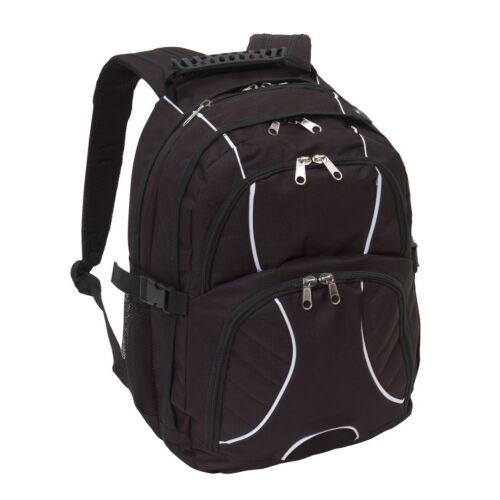HYPE laptop tárolós hátizsák, fekete