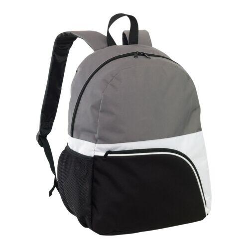 NARVIK hátizsák, fekete, fehér, szürke