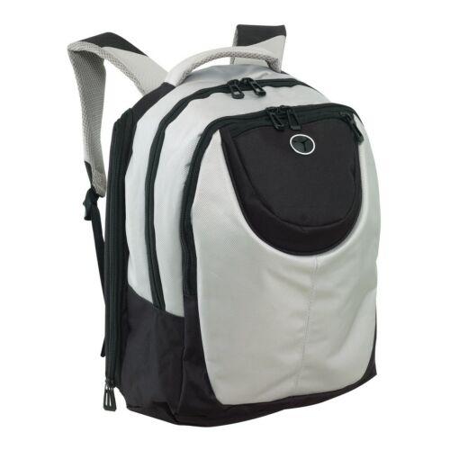 DELUXE hátizsák, ezüst, fekete
