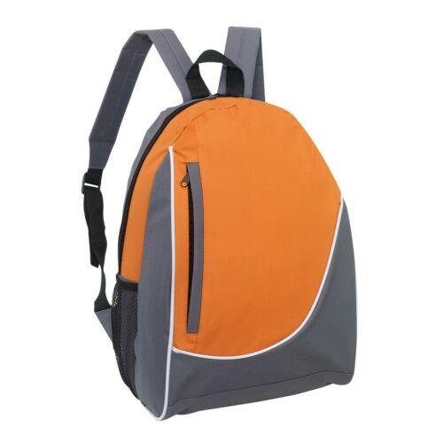 POP hátizsák, szürke, narancssárga