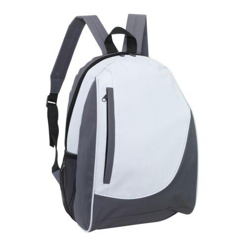 POP hátizsák, szürke, fehér