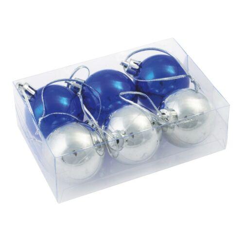 XMAS LINE Karácsonyi gömb dísz szett