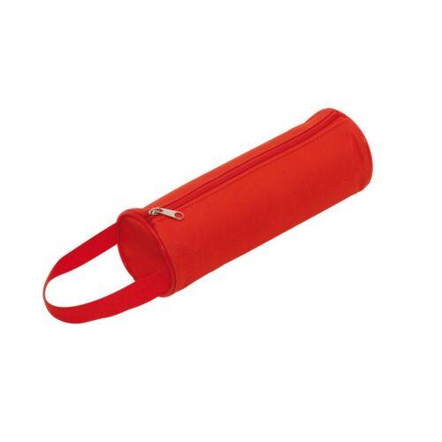 SCHOOL cipzáras tolltartó, vörös