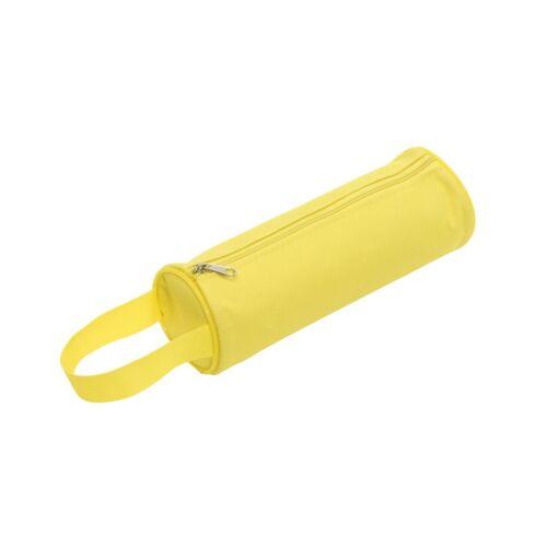 SCHOOL cipzáras tolltartó, sárga