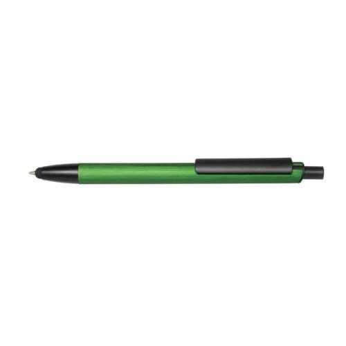 GENEVA golyóstoll, fekete, zöld