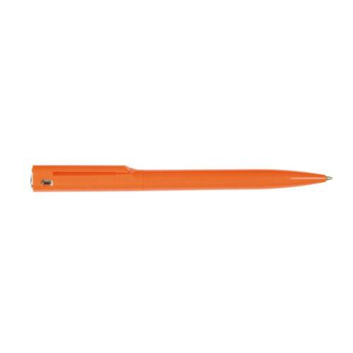 VERMONT golyóstoll, ezüst, narancssárga