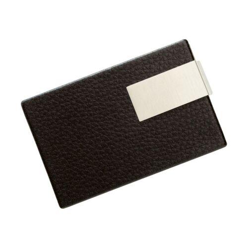 COOL CARDS elegáns névjegykártyatartó, fekete, ezüst