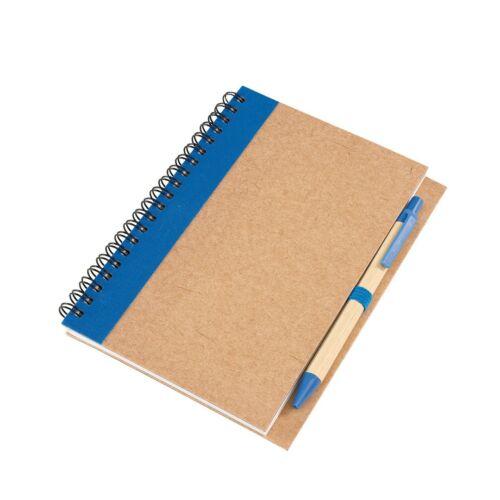 RECYCLE jegyzetfüzet, kék