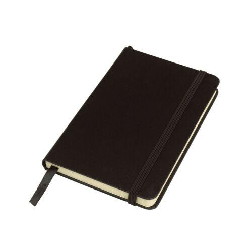 ATTENDANT jegyzetfüzet A6-os formátum, fekete