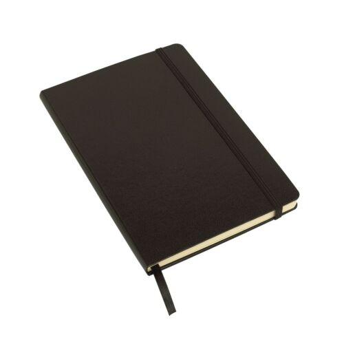 ATTENDANT jegyzetfüzet A5-ös méretben, fekete