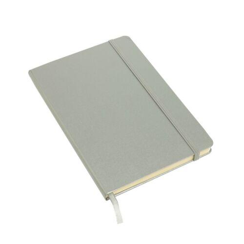 ATTENDANT jegyzetfüzet A5-ös méretben, ezüst