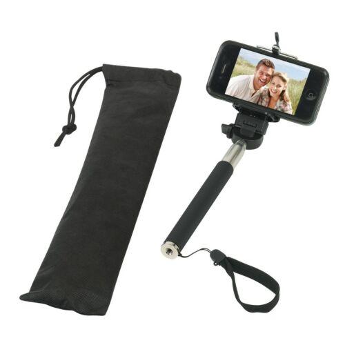 SELFIE teleszkópos, monopod kamera, fényképező állvány, fekete
