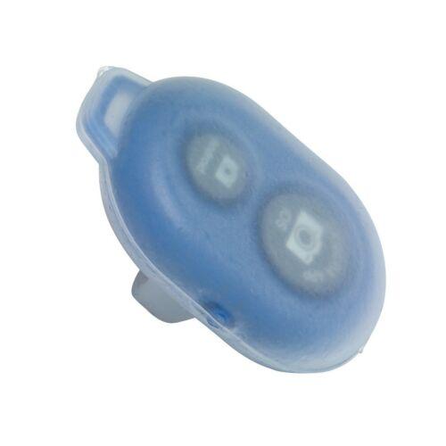 CLIK bluetooth-os aktiváló gomb selfie botokhoz, kék, fehér