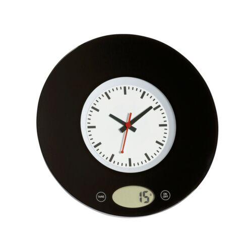 TIME digitális konyhai mérleg, fekete