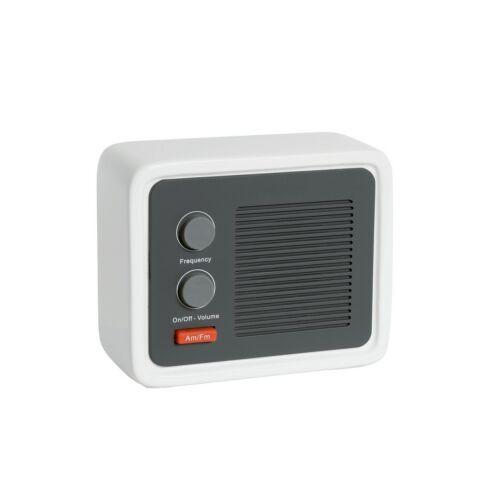 ICE RADIO stílusos rádió, fehér