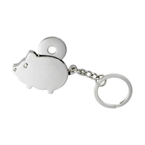 CHAMBA fém kulcstartó, ezüst