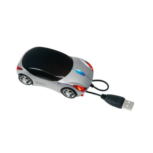 PC TRACER optikai USB komputer egér, ezüst, fekete
